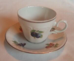 Vintage Jaeger & Co Cup and Saucer Bavaria Germany Exc Cond