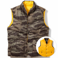 Oakley Men's Reversible Command Ouffer Vest Jacket - Olive Camo