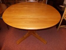 ERCOL PEDESTAL DINING TABLE