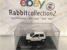 "DIE CAST "" FIAT CINQUECENTO ELETTRA - 1992 "" + TECA RIGIDA BOX 2 SCALA 1/43"
