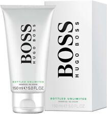 HUGO BOSS BOTTLED UNLIMITED 150ML SHOWER GEL FOR MEN BRAND NEW AND SEALED