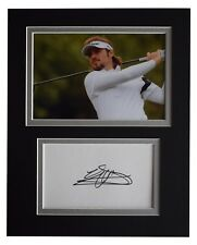Victor Dubuisson Signed Autograph 10x8 photo display Golf Sport AFTAL COA