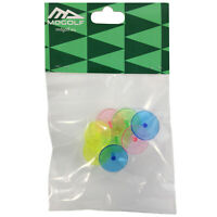 MD Golf Neon Plastic Ball Markers Set - 8 Pieces Per Pack Strong Mixed Colours