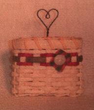 Basket Weaving Pattern Button It Up Ornament by Julie Kleinrath