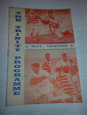 Wakefield Trinity v Leeds 28th December 1963 League Match @ Belle Vue, Wakefield