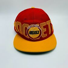 Vtg Houston Rockets NBA Forty Seven 47 Brand Red Mens Snapback Hat