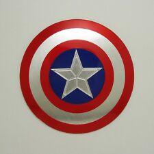 Captain America Car Aluminium Body Emblem Steering Wheel Decal Sticker Universal