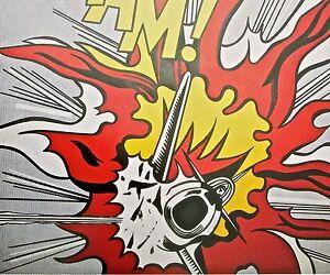 Roy Lichtenstein Whaam 1963- Poster -War Imagery  Pop Art Offset Lithograph