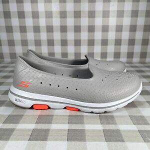 Skechers Women's Size 10 Cali Gear Slip On Foamies Ultra Go Gray