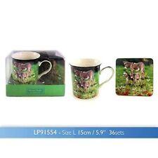 macneil studio donkey & family mug coaster