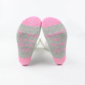 Unisex Basic Cotton Women Socks Deodorant Mid Calf Short Sock IF YOU CAN READ IT