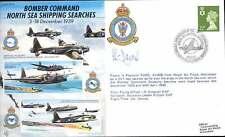 Bombardero JS50/39/4 Segunda Guerra Mundial de la Segunda Guerra Mundial Comando RAF Cubierta firmado Crew