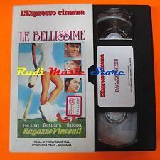 film VHS RAGAZZE VINCENTI T. Hanks Madonna L'ESPRESSO CARTONATA  (F7*) no dvd