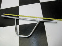 New Chrome CW Repo type II Bike Handle Bar for Old School GT BMX Bicycle
