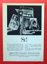B896-Advertising Pubblicità-1959 - POLAROID APPARECCHIO FOTOGRAFICO