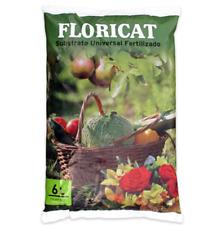 Sustrato Universal Fertilizado, Turba, para Todo Tipo de Plantas, FLORICAT 6L