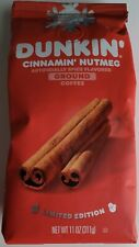 NEW Dunkin' Donuts Cinnamin' Nutmeg Flavored Ground Coffee FREE WORLD SHIPPING