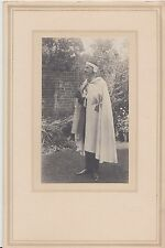 Photograph in folder of Richard Aubrey Howard Spiers dressed as a knight