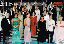 Coupure de Presse Clipping 1997 (6 pages) Monaco Bal de la Rose boudé par Rois