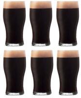 PUB Pint Glass 20oz 570ml BOX OF 6 tulip beer highball glasses QUALITY GLASSWARE