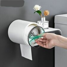 Wall-mounted Waterproof Toilet Paper Holder Creative Plastic Tissue Storage Box