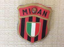 CALCIO A.C. MILAN SQUADRA CAMPIONE D' ITALIA ASCIUGA PENNINO CON STEMMA ANNI '50