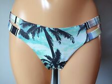 Billabong La isla palm print bikini briefs multi UK M UK 10/12 (SKU38/1)