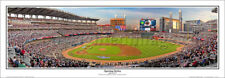 Atlanta Braves SUNTRUST PARK OPENING 2017 Panoramic POSTER Print by Rob Arra