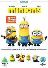Minions (DVD) Sandra Bullock, Jon Hamm, Michael Keaton, Steve Coogan