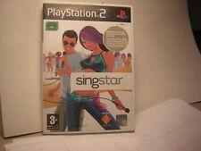 playstation 2 SINGSTAR   PS2