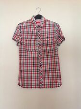 LEVI STRAUSS, Mens's Western Check. size S. Authentic