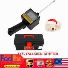 Dog Ovulation Detector Pregnancy Planning Breeder Canine Mating Device + Case Us