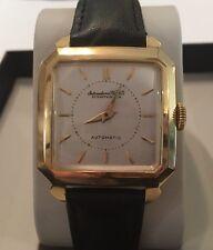 Vintage IWC Schaffhausen watch men's 18K YELLOW GOLD International Watch Co
