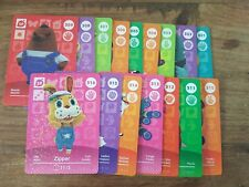animal crossing new leaf welcome  amiibo JOB LOT OF 16 CARDS  series 4