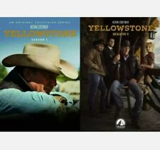 Yellowstone: Season 1 & 2 (DVD 2019, 8-Disc-Set)  New, Sealed. Fast Shipping