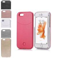 Luxury LED Light Up Selfie Luminous Phone Back Cover Case For iPhone 6 6s Plus