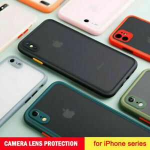 FREE Screen Protector +Shockproof Case For iPhone 13 12 11 Pro Max XR XS X Cover
