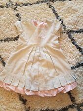 Pampolina Silver dress 4T EUC!