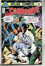 Scorpion #3-1975 fn- Atlas Howard Chaykin Jim Craig last issue