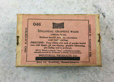 IPCO Colloidal Graphite Wads, Industrial Products Co., Firearms, New Old Stock