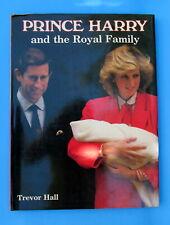 Prince Harry and the Royal Family Book 1984 Trevor Hall
