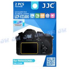 JJC 2PCS LCD Guard Film Camera Screen Protector Cover for Panasonic DMC-FZ1000
