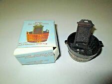 Antique Zinc-Alloy Miniature Pencil Sharpener OLD FASHIONED WASH TUB w Box #1152