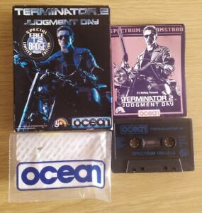 Terminator 2 Judgment Day (Spectrum) Boxed complete Movie Tie-in Vintage Game