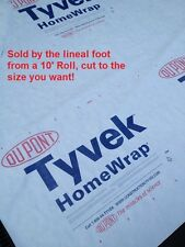 10' Tyvek Homewrap Groundcloth Tarp Hiking Camping Tent Footprint w/Anchor Loops