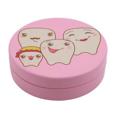 Keepsake Box Boy Girl Milk Teeth Organizer Storage Baby Wooden Fallen Tooth YD