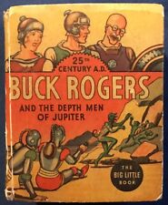 Buck Rogers And The Death Men Of Jupiter Big Little Book #1169