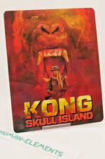 KONG SKULL ISLAND - Lenticular 3D Flip Magnet Cover FOR bluray steelbook