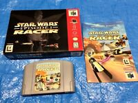 Authentic Nintendo 64 Star Wars: Episode I: Racer Complete Game in Box N64