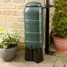 Strata GN339  Slimline Water Butt 100L with Tap - Green